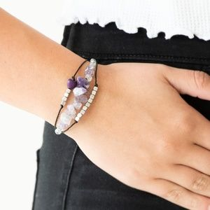 Nature Novice - Purple bracelet